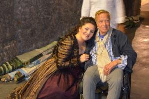 Maria Agresta - Don Giovanni - Arena di Verona con Franco Zeffirelli