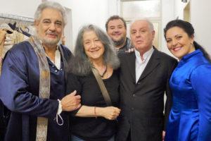 Maria Agresta - Simon Boccanegra - Berlino con Placido Domingo, Daniel Baremboim, Fabio Sartori, Martha Argerich